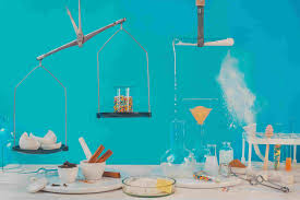 Chemical reactions in the household