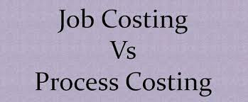 A comparison of process costing and job order systems
