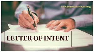 Nursing career letter of intent