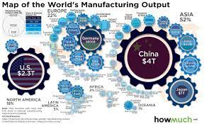 China superpower of manufacturing economy