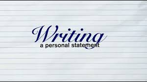 Masters in Accounting Personal Statement