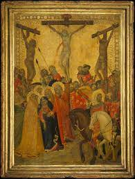 THE CRUCIFIXION, CA. 1340 BY PIETRO LORENZETTI