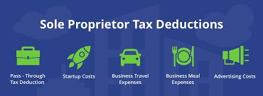 Sole Proprietor Income Deductions