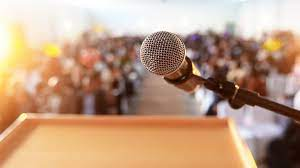 The process of preparing and performing speech