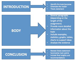 Structure of academic writing
