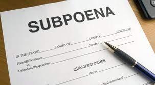 A Subpoena