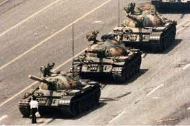 The Tank Man: Tiananmen Square Demonstration and Massacre