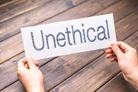 Unethical Practice