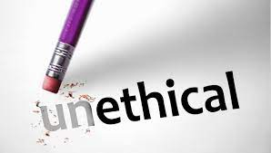 Unethical behaviors in the Workplace