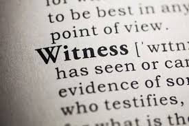Witnesses in the Criminal Justice System